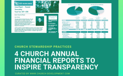 4 Catholic Church Annual Reports to Copy this Year