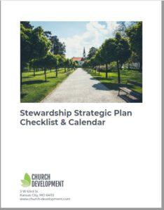 Church Stewardship Strategic Plan Checklist & Calendar