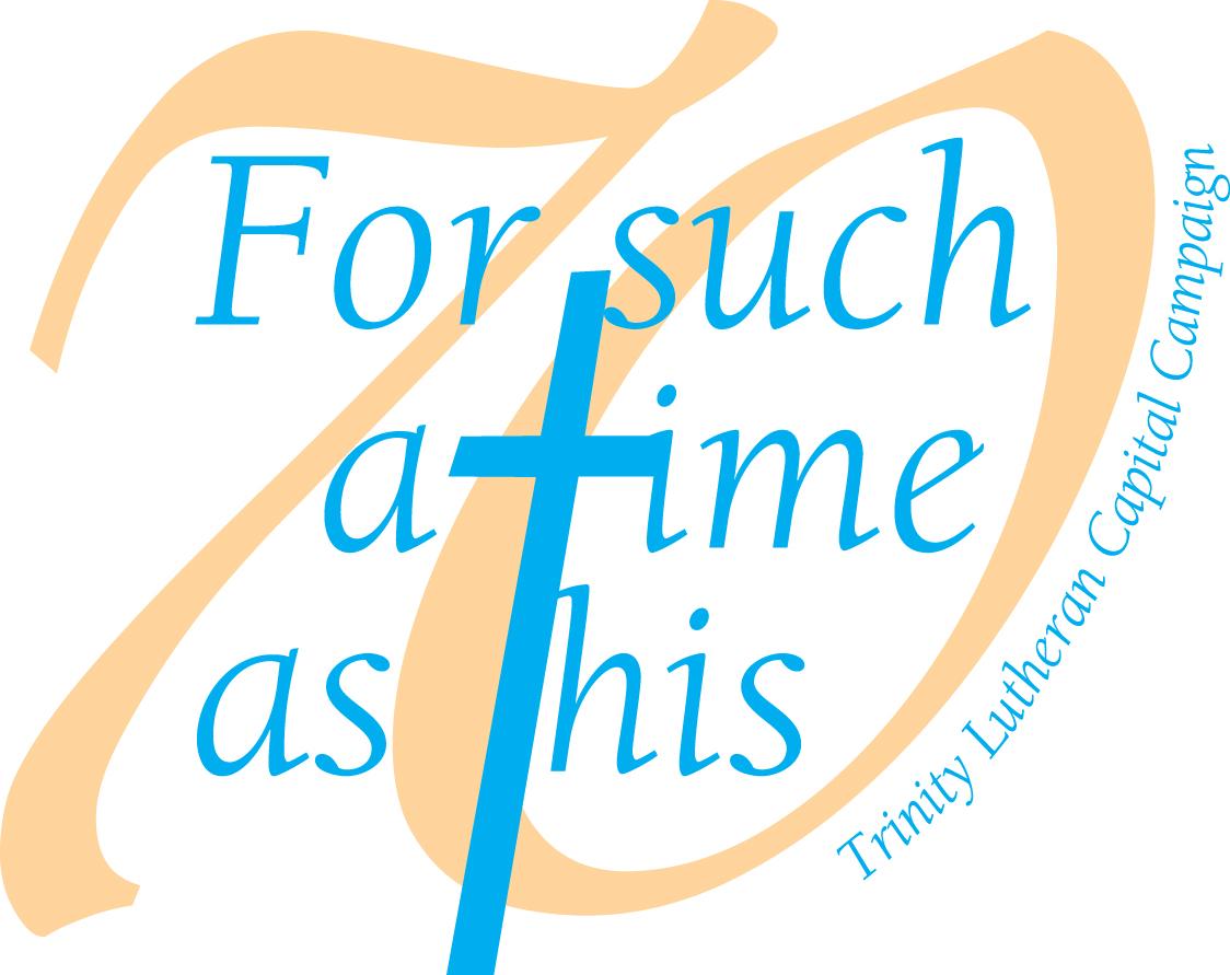Trinity church capital campaign logo